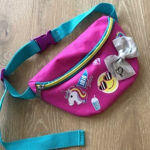 Jojo Siwa fanny pack pink and blue NWOT
